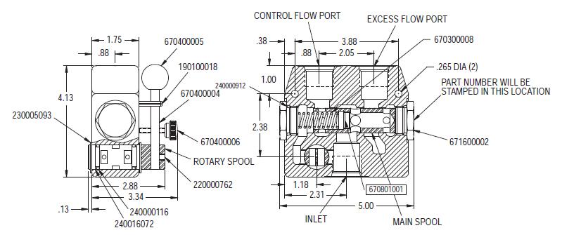 Flow Control Valve Schematic Wiring Diagram